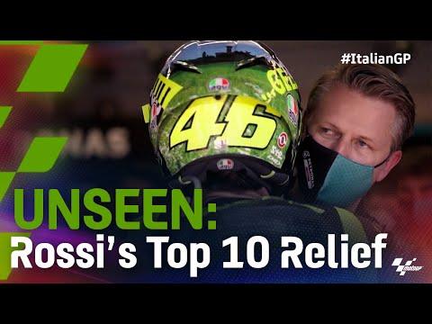 Unseen: Rossi's top 10