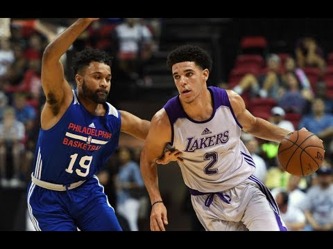 Los Angeles Lakers vs Philadelphia 76ers