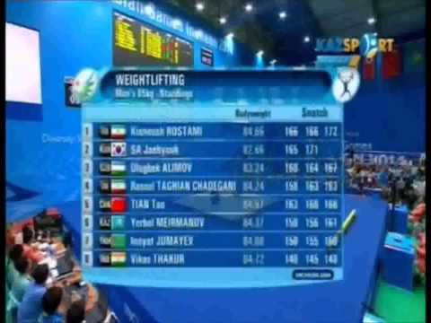 2014 Asian Games Weightlifting 85 kg xvid