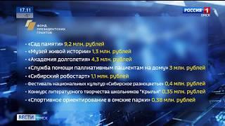 39 омских проектов стали победителями конкурса Фонда президентских грантов