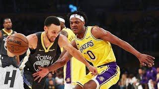 Golden State Warriors vs Los Angeles Lakers - Full Highlights | April 4, 2019 | 2018-19 NBA Season
