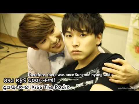 ENGSUB 130610 Ryeowook doesn't press the elevator button for Sungmin