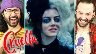 CRUELLA - TRAILER REACTION!! (Disney | Emma Stone | Joker)