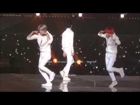 151010 EXO-Love Concert 나비소녀