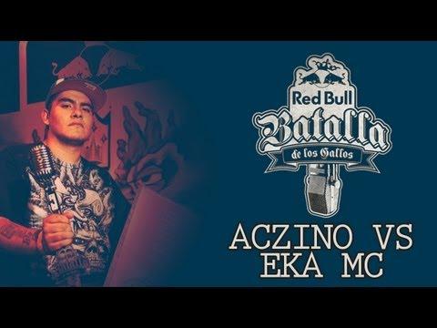 Aczino Vs Eka Mc | Batalla de los Gallos Colombia | Octavos | 2012