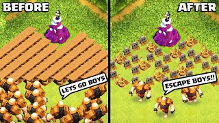 TRY NOT TO LAUGH CLASH OF CLANS EDITION PART2 - COC FUNNY MOMENTS, EPIC FAILS AND TROLL COMPILATION