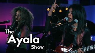 Nova Twins - Bassline Bitch - LIVE on The Ayala Show