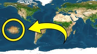 A New Continent Is Discovered on Earth In the Pacific Ocean