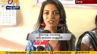 Miss Andhra Shreya Rao glitters in Vizag..