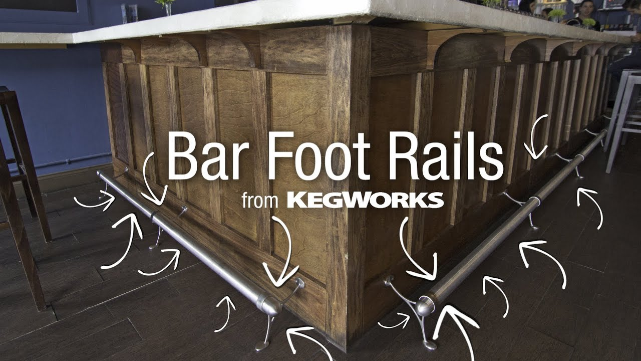 Bar Foot Rails From Kegworks Youtube