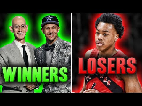 The Winners and Losers Of The 2021 NBA Draft