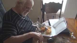 Grandpa's Restaurant Burger Prank