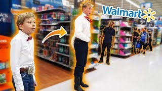 JAKE PAUL YODELING IN WALMART!! *KICKED OUT*