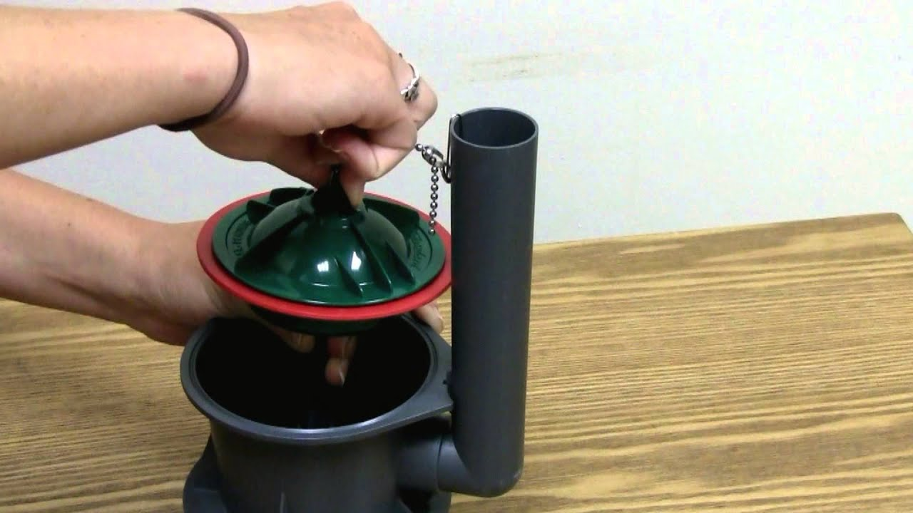 Korky 174 4 Inch Toilet Flush Valve Seal Installation Youtube