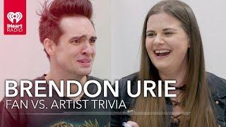 Brendon Urie Challenges Super Fan In Trivia About Himself   Fan Vs. Artist Trivia