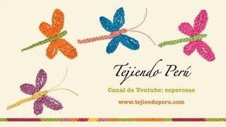 Libélulas en crochet (modelo 2) - Tejiendo Perú