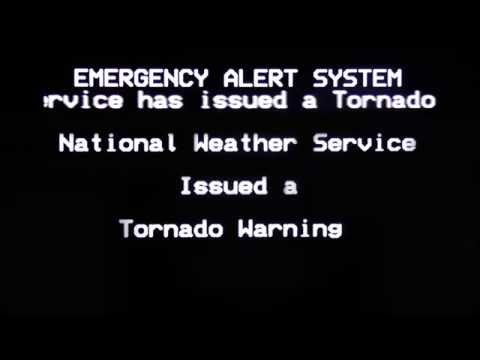 [ORIGINAL] - Emergency Alert System - Tornado Warning for Knoxville, TN (March 2, 2012)