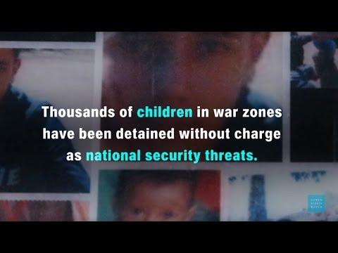 Children Detained in War Zones