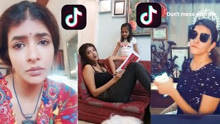 Manchu Lakshmi trending TikTok videos..