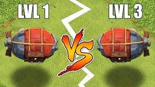 "CAN YOU TELL THE DIFFERENCE!?! ""Clash Of Clans"" BATTLE BLIMP MAX"