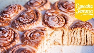 The Best, Softest  Cinnamon Rolls | Cupcake Jemma