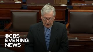 Top Republican proposes delaying 2nd Trump impeachment trial