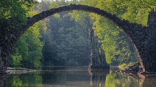 """Peaceful Relxing Instrumental Music, Calm Meditation Music """"Nature's Bridges"""" by Tim Janis"""