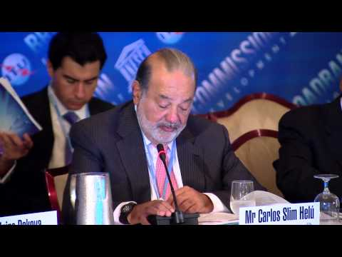 Carlos Slim Helu, Opening Speech, 6th Broadband Commission for ...