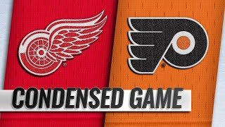 02/16/19 Condensed Game: Red Wings @ Flyers