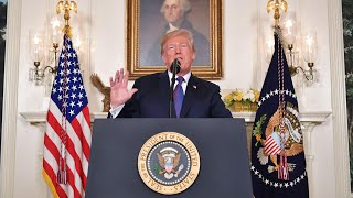 'A strong deterrent': Trump announces strikes on Syria