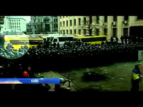 Хто спровокував бійку на вул. Банковій? Who started the fight at the Presidential Administration?