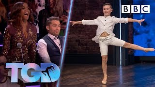 Breathtaking Fionn stuns the dance captains with effortless moves - The Greatest Dancer | Auditions