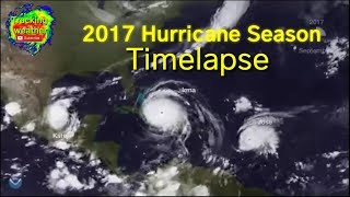 2017 Atlantic Hurricane Season Timelapse Video