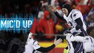 "Patriots vs. Chiefs Mic'd Up, ""They said I went offsides... did I?"" (AFC Championship)"