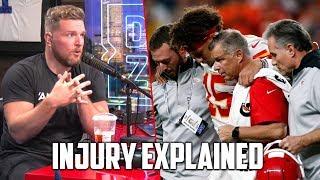 Pat McAfee Explains Patrick Mahomes Knee Injury