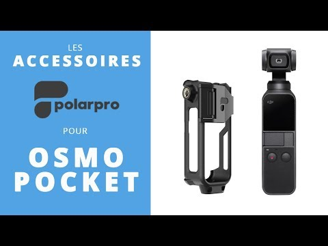 video POLARPRO Support action mount pour DJI OSMO POCKET