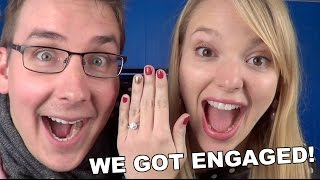 WE GOT ENGAGED!!