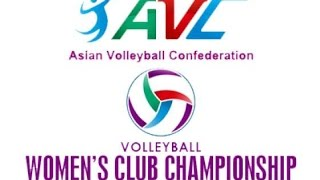 Bangkok Glass(THA) Vs Thông Tin Liên Việt Bank(VIE):Asian Women's Club Volleyball Championship 2015