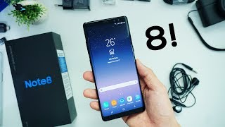 UNBOXING SAMSUNG GALAXY NOTE 8 INDONESIA!