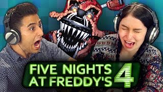 FIVE NIGHTS AT FREDDY'S 4 (REACT: Gaming)
