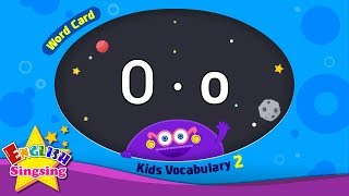 "Kids vocabulary compilation ver.2 - Words Cards starting with O, o - Repeat after ""Ting (sound)"""