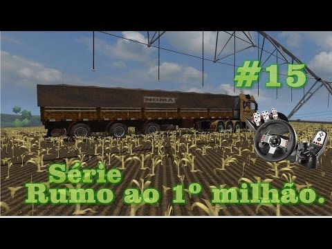 Baixar Farming Simulator 2013 Graneleira Vanderleia + Dirt + G27 Logitech