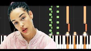 Jorja Smith ft Stormzy - Let Me Down (Piano Tutorial)