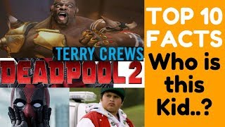 ✅Terry Crews Deadpool 2 Role,Jesse Bedlam Marvel, Surge,Rob delaney,x force,Shioli kutsuna,Who kid