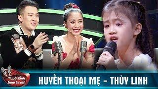 Cẩm Ly, Huỳnh Lập tuôn trào nước mắt khi nghe ca khúc Huyền Thoại Mẹ của bé Thùy Linh   TDSCN 2