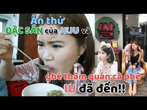 Ăn thử ĐẶC SẢN của JEJU và ghé thăm quán cà phê IU đã đến!!