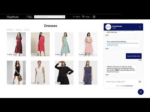 GenieTalk.ai - Conversational AI for E-Commerce (Retail)