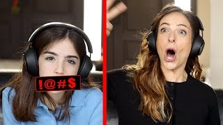 I CAN'T BELIEVE SHE SAID THAT!! - FAMILY WHISPER CHALLENGE!