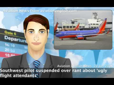 Pilot suspended over rant about 'ugly' flight attendants.mp4