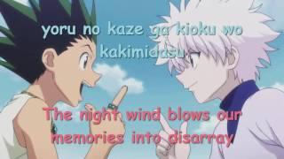 Hunter x Hunter (2011) Ending 3 Full lyrics + English